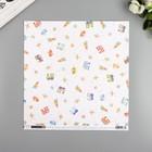 """Бумага для скрапбукинга Pink Paislee """"Little Adventurer9"""" 30.5х30.5 см, 190 гр/м2"""