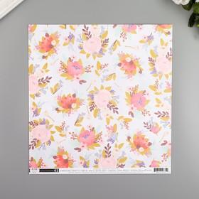 """Бумага для скрапбукинга Pink Paislee """"Little Adventurer2"""" 30.5х30.5 см, 190 гр/м2"""