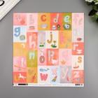 """Бумага для скрапбукинга Pink Paislee """"Little Adventurer4"""" 30.5х30.5 см, 190 гр/м2"""