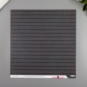 """Бумага для скрапбукинга Crate Paper """"Charming"""""""" 30.5х30.5 см, 190 гр/м2"""