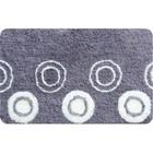 Коврик для ванной комнаты IDDIS Chequers 431A580I12, 50х80 см, silver, акрил