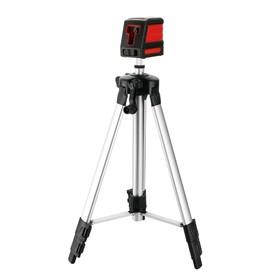 """Уровень лазерный DEKO DKLL11 SET 2, 2 класс, 2 луча, вертикаль/горизонталь, 15 м, 1/4"""""""