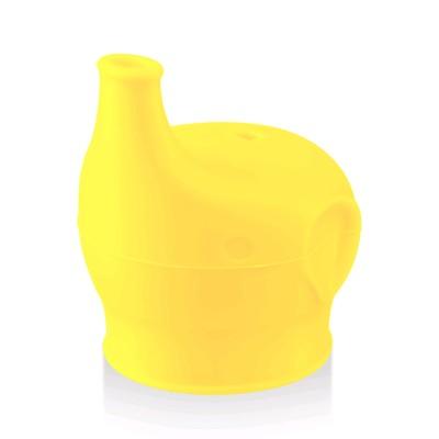 Насадка-поильник силиконовая Happy Baby, цвет yellow - Фото 1