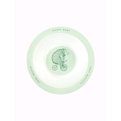Тарелка глубокая для кормления, цвет olive - Фото 1