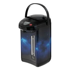 "Термопот OPTIMA AP-503S, 5 л, 900 Вт, ""космос"" черно-синий"