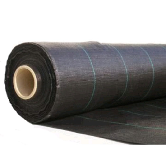 Агроткань застилочная 1,80м х 100м плотность 130г/м2 черная