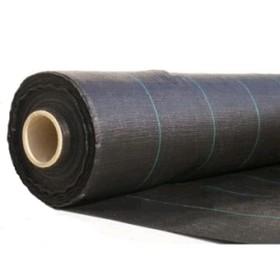 Агроткань застилочная, с разметкой, 3,20 х 100 м плотность 100 г/м², полипропилен, чёрная Ош