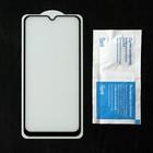 Защитное стекло Cassedy Full Cover, для Samsung Galaxy A20, полный клей, чёрная рамка - Фото 2