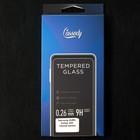 Защитное стекло Cassedy Full Cover, для Samsung Galaxy A20, полный клей, чёрная рамка - Фото 3