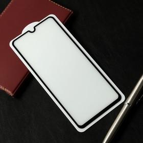 Защитное стекло Cassedy Full Cover, для Samsung Galaxy A70, полный клей, чёрная рамка
