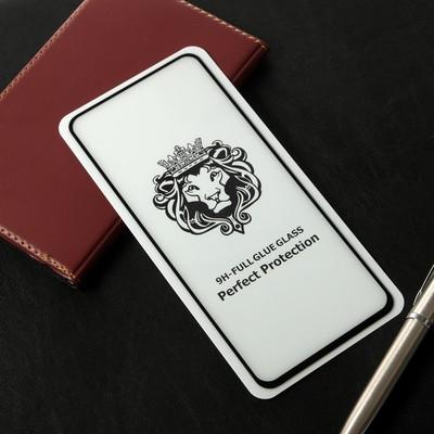 Защитное стекло Cassedy Full Cover, для Samsung Galaxy A80, полный клей, чёрная рамка - Фото 1