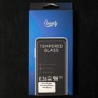 Защитное стекло Cassedy Full Cover, для Samsung Galaxy A80, полный клей, чёрная рамка - Фото 3