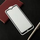 Защитное стекло Cassedy Full Cover, для Xiaomi Redmi 8A, полный клей, чёрная рамка - Фото 1