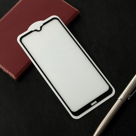Защитное стекло Cassedy Full Cover, для Xiaomi Redmi 8A, полный клей, чёрная рамка