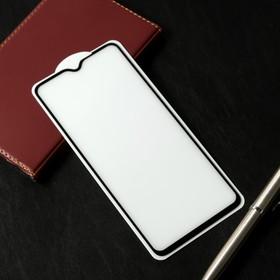 Защитное стекло Cassedy Full Cover, для Xiaomi Redmi Note 8 Pro, полный клей, чёрная рамка