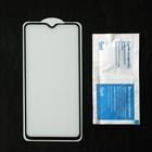 Защитное стекло Cassedy Full Cover, для Xiaomi Redmi Note 8 Pro, полный клей, чёрная рамка - Фото 2