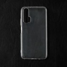 Чехол Qumann, для Honor 20 Pro/ Huawei Nova 5T, силиконовый, прозрачный