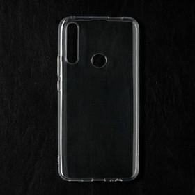 Чехол Qumann, для Huawei P Smart Z/ Honor 9x, силиконовый, прозрачный