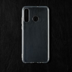 Чехол Qumann, для Huawei P30 Lite/ Honor 20s, силиконовый, прозрачный