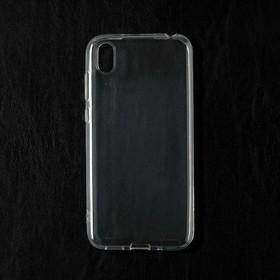 Чехол Qumann, для Huawei Y5 (2019)/Honor 8S, силиконовый, прозрачный