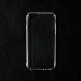 Чехол Qumann, для iPhone 6/6s/7/8, силиконовый, прозрачный