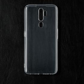Чехол Qumann, для OPPO A5/ A9 (2020), силиконовый, прозрачный