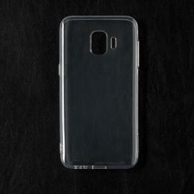 Чехол Qumann, для Samsung (J260) Galaxy J2 Core (2018), силиконовый, прозрачный