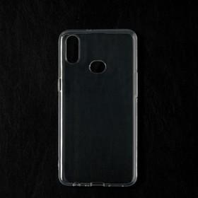 Чехол Qumann, для Samsung (А107) Galaxy A10s, силиконовый, прозрачный