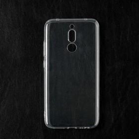 Чехол Qumann, для Xiaomi Redmi 8, силиконовый, прозрачный