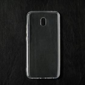 Чехол Qumann, для Xiaomi Redmi 8A, силиконовый, прозрачный