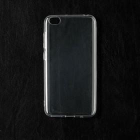 Чехол Qumann, для Xiaomi Redmi Go, силиконовый, прозрачный