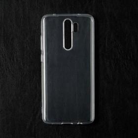 Чехол Qumann, для Xiaomi Redmi Note 8 Pro, силиконовый, прозрачный