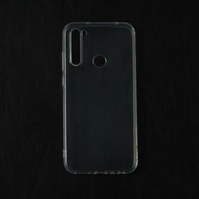 Чехол Qumann, для Xiaomi Redmi Note 8T, силиконовый, прозрачный