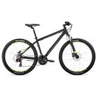 "Велосипед 27,5"" Forward Apache 3.0 disc, 2020, цвет  черный мат., размер 19"""