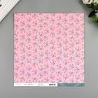 """Бумага для скрапбукинга Crate Paper """"Rose"""" 30.5х30.5 см, 190 гр/м2"""