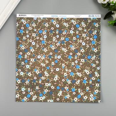 """Бумага для скрапбукинга BoBunny """"Nature"""" 30.5х30.5 см, 190 гр/м2 - Фото 1"""