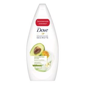 Крем-гель для душа Dove «Ритуал красоты», питание, с авокадо и календулой, 500 мл