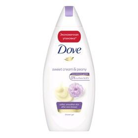 Крем-гель для душа Dove «Сливочная ваниль и пион», 500 мл
