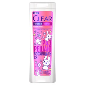 Шампунь Clear Floral Splash, против перхоти, 380 мл