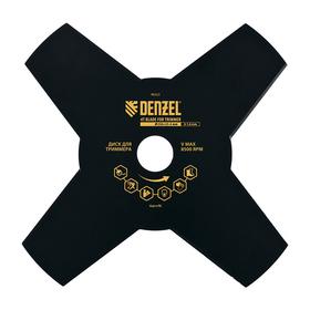 Диск для триммера DENZEL 96323, 230х25.4х1.6 мм, 4 лезвия