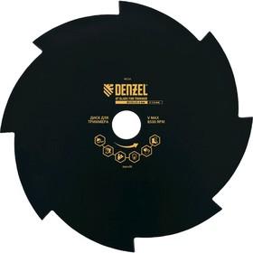 Диск для триммера DENZEL 96328, 230х25.4х1.6 мм, 8 лезвий Denzel