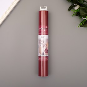 "Клеевой винил American Crafts ""Pomegranate"" 30.5х120 см"