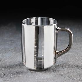 Кружка «Серпантин», 200 мл, серебро