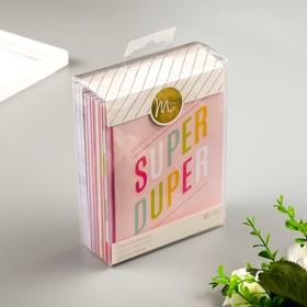 """Набор карточек и конвертов MINC """"Super duper"""" 32 шт"""