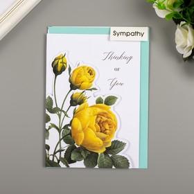 """Поздравительная открытка и конверт American Crafts """"Rose Birthday"""""""