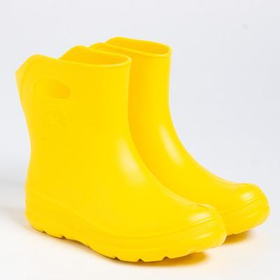 Сапоги женские, цвет жёлтый, размер 36/37 - Фото 1