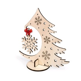 Деревянный конструктор «Новогодняя ёлочка»