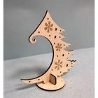 Деревянный конструктор «Новогодняя ёлочка» - Фото 2