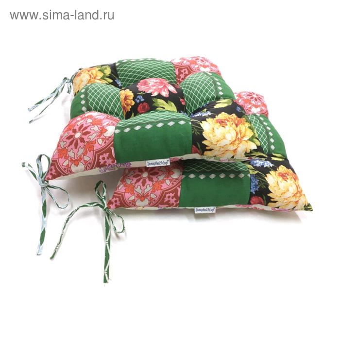 Подушка на стул, размер 40×40 см