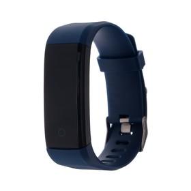 Фитнес-браслет Qumann QSB 11, 0.96', IP67, цветной экран, тёмно-синий Ош